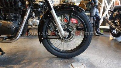 New Royal Enfield Bullet 350 Es Front Wheel And Su