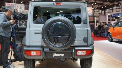 Suzuki Jimny Sierra At Paris Motor Show 2018 Grey