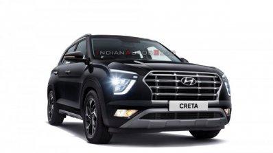 2020 Hyundai Creta Front Three Quarters Official I