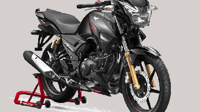Tvs Apache Rtr 180 Bs6 Front Three Quarter Right