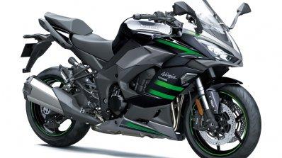 Kawasaki Ninja 1000sx Front Three Quarter Black