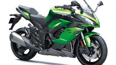 Kawasaki Ninja 1000sx Front Three Quarter Green