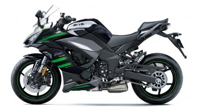 Kawasaki Ninja 1000sx Left Side Black