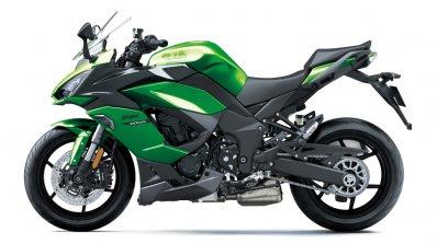 Kawasaki Ninja 1000sx Left Side Green