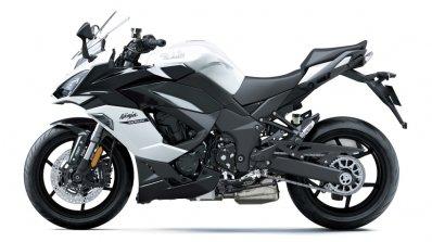 Kawasaki Ninja 1000sx Left Side White