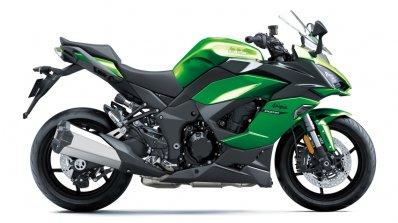 Kawasaki Ninja 1000sx Right Side Green