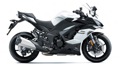 Kawasaki Ninja 1000sx Right Side White