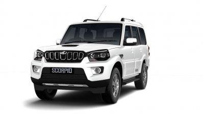 Mahindra Scorpio 2017 Facelift Front Three Quarter