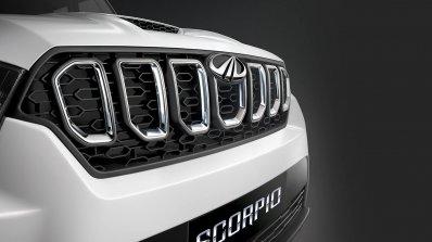 Mahindra Scorpio 2017 Facelift New Grille