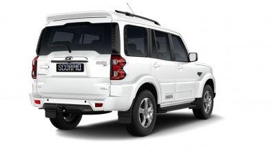 Mahindra Scorpio 2017 Facelift Right Rear Three Qu