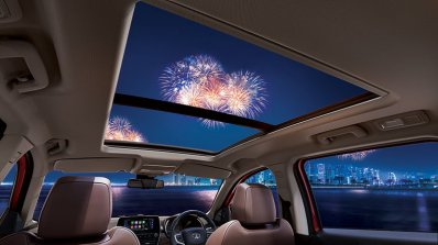 2020 Tata Harrier Review Images Interior Sunroof