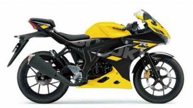 New Suzuki Gsx R150 Yellow