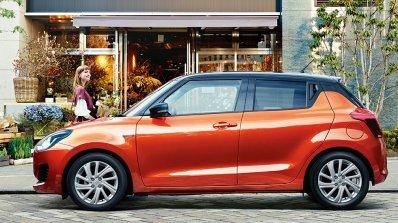 2020 Maruti Swift Facelift Profile Side