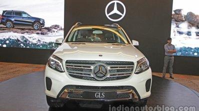 Mercedes Gls Front India Launch
