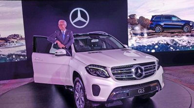 Mercedes Gls Front India Launch Live