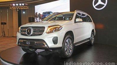 Mercedes Gls Front Quarters India Launch