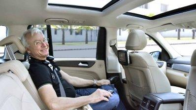 Mercedes Gls Grand Edition Rear Seat Entertainment