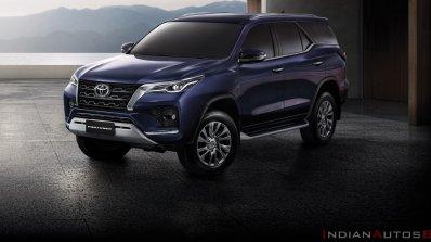 2021 Toyota Fortuner Facelift Exterior