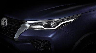 2021 Toyota Fortuner Facelift Headlamp