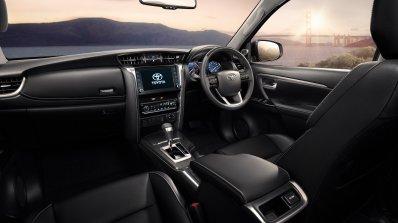 2021 Toyota Fortuner Facelift Interior Dashboard