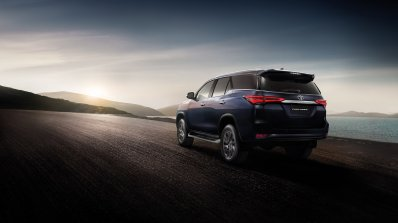 2021 Toyota Fortuner Facelift Rear Quarters