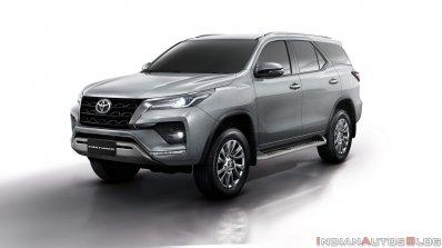 2021 Toyota Fortuner Facelift Silver