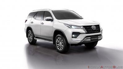 2021 Toyota Fortuner Facelift White