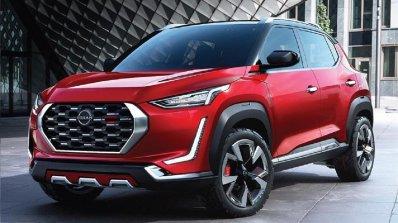 2021 Nissan Magnite Front Profile Image