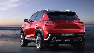2021 Nissan Magnite Rear Profile Image
