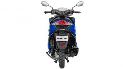 Suzuki Burgman Street 125 Blue Rear