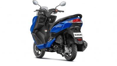Suzuki Burgman Street 125 Blue Rear Lt