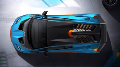 Lamborghini Huracan Sto Top View