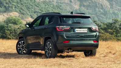 Jeep Compass Facelift Unveiled 2