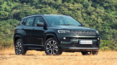 Jeep Compass Facelift Unveiled
