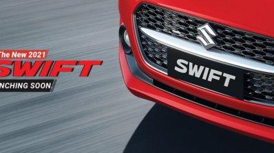 Maruti Suzuki Swift Facelift Teaser