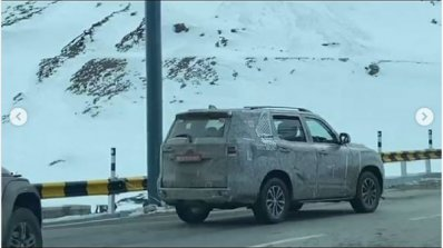 Mahindra Scorpio High Altitude Testing Spied