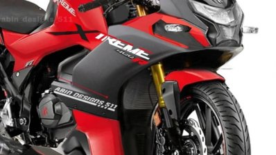 Hero Xtreme 160r Sportbike Renderig Front Right