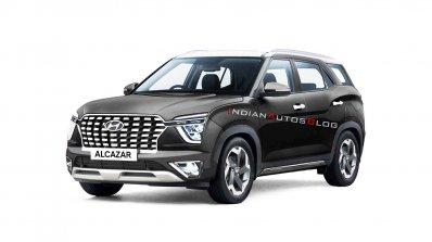 Hyundai Alcazar Titan Grey