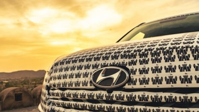 Hyundai Alcazar Grille