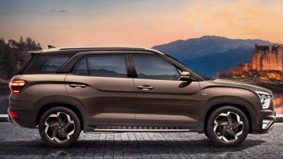 Hyundai Alcazar Side Profile