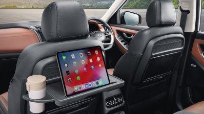 Hyundai Alcazar Official Image Interior Rear Seat