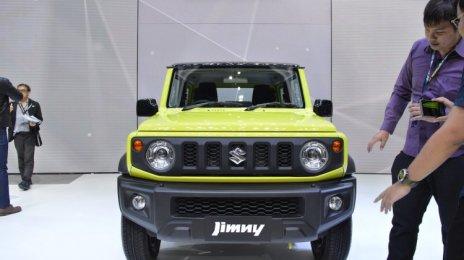 Suzuki Jimny- यहां देखें इस मिनी एसयूवी की अन्य तस्वीरें