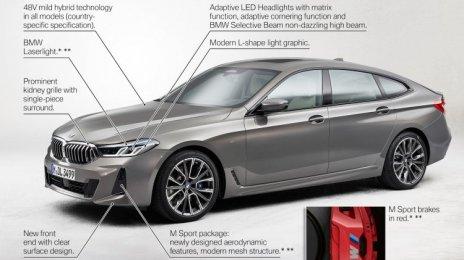 2021 Bmw 6 Series GT- इमेज गैलरी