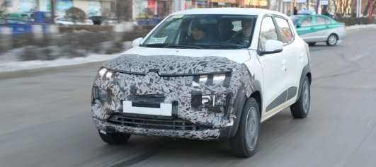 Production Renault Kwid EV spied for the first time [Update]
