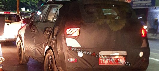 Hyundai Styx shows its tail light pattern in new spy shots [Update]