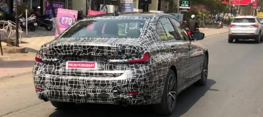 2019 BMW 3 Series spotted on test in India again [Video]