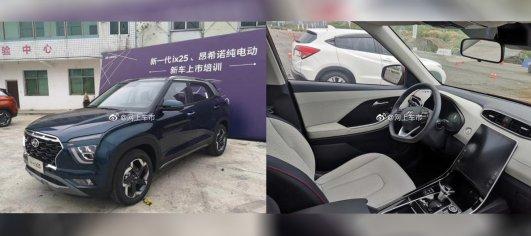 2020 Hyundai ix25 (2020 Hyundai Creta) in new colour & with clearest interior view snapped