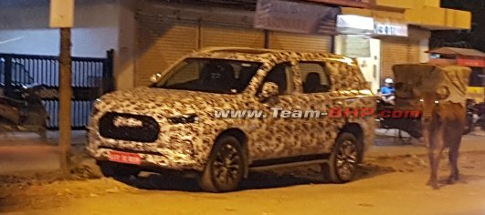 Maxus D90 spied in India, will be MG's Ford Endeavour rival