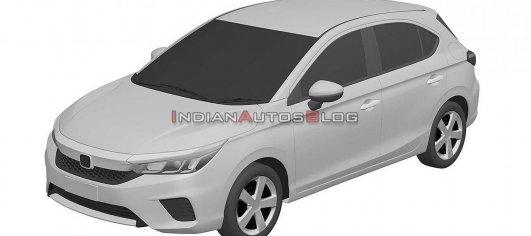 Honda City Hatchback (5-door Honda City) coming this year, design leaked