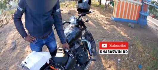 Royal Enfield Meteor name confirmed by test mule rider on record [Video]